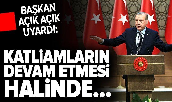 ERDOĞAN'DAN STAV DERGİSİ'NE FLAŞ MESAJLAR...