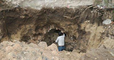 Apartmanın altında Osmanlı döneminden kalma 'Taş Kanal'