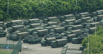 Hong Kong'daki protestolar ve askerî yığınağın amacı