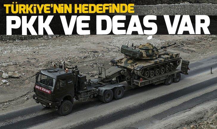 'Türkiye'nin hedefinde PKK ve DEAŞ var'