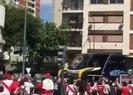 Dev maç öncesi takım otobüsüne saldırı!