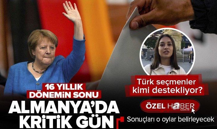 Almanya'da seçim günü: Sonucu Türk oyları belirleyecek | Türk seçmen kime oy verecek?