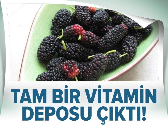 Tam bir vitamin deposu çıktı!