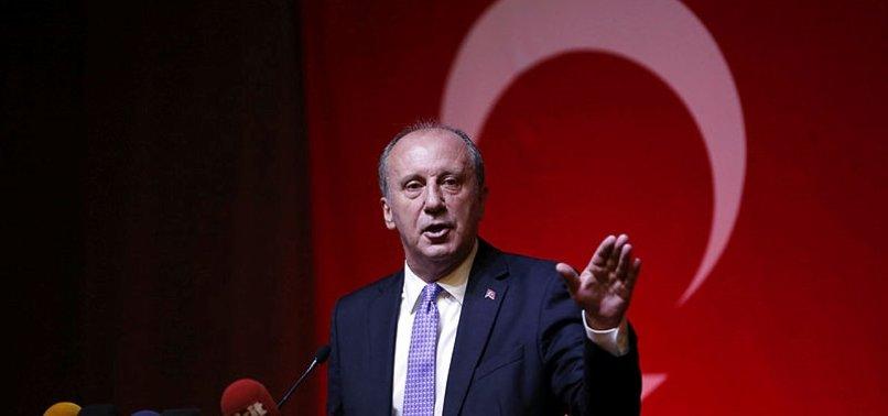 Son dakika: Muharrem İnce bugün CHP'den istifa etti: FETÖ'cüleri Sorosçuları koruyanlarla yolumu ayırıyorum
