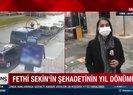Şehit polis memuru Fethi Sekin unutulmadı