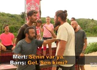 Barış Murat Yağcı ve Mert Öcal birbirine girdi! Survivor'da büyük kavga