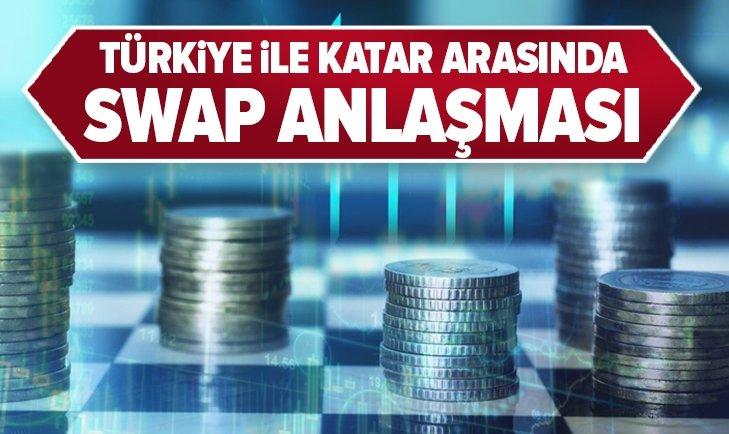 Türkiye ile Katar arasında yeni swap anlaşması