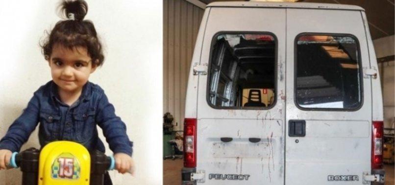 Iraklı bebeği öldüren Belçikalı polisin ifadesi ortaya çıktı