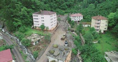 Trabzon'da sel felaketi!