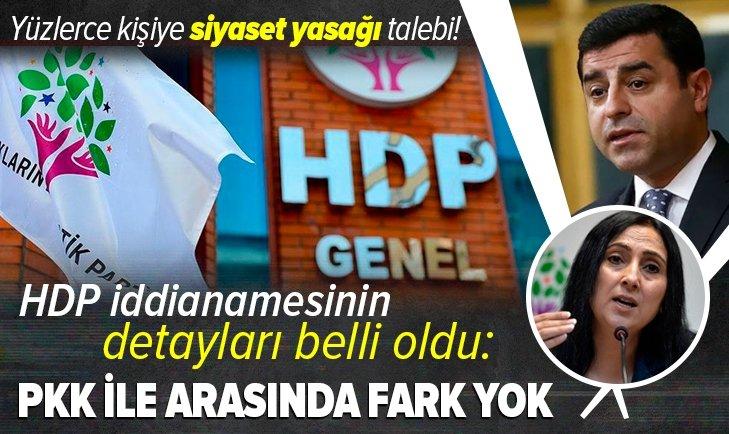 İşte HDP iddianamesinin detayları