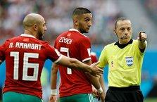 Cüneyt Çakır, Rusya-Mısır maçında 4. hakem