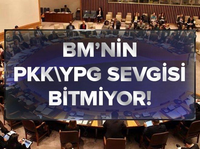 BM'NİN PKK/YPG SEVGİSİ BİTMİYOR