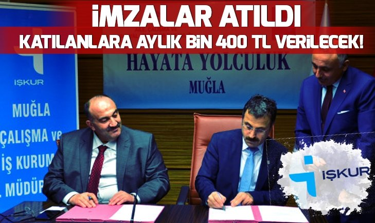 İŞKUR'DAN FLAŞ HAMLE! PROGRAMA KATILANLARA AYLIK BİN 400 TL VERİLECEK