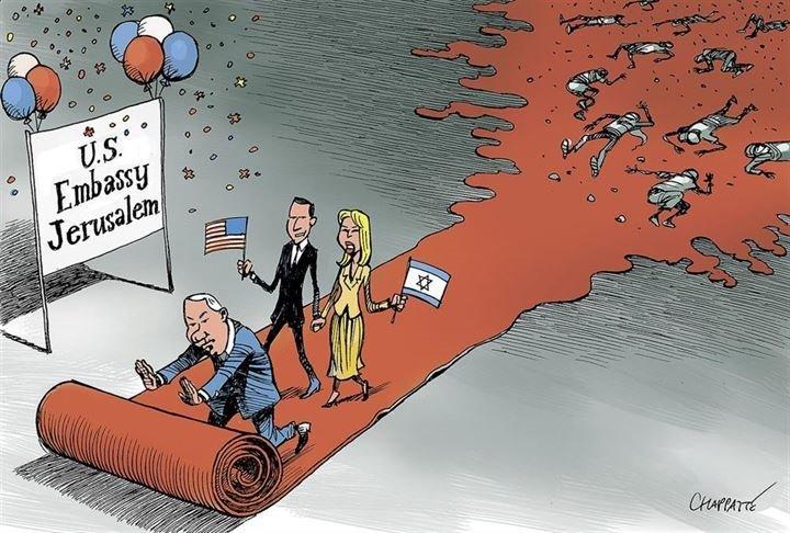 GAZZE'DEKİ İSRAİL KATLİAMINI ANLATAN ÇİZİMLER!