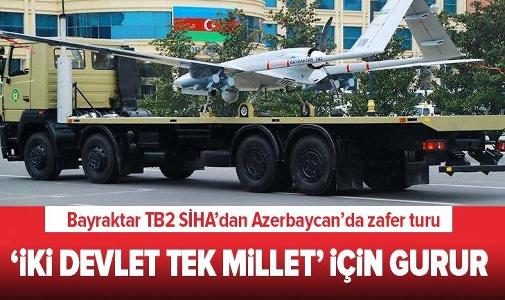 Bayraktar TB2 SİHA'dan Azerbaycan'da zafer turu