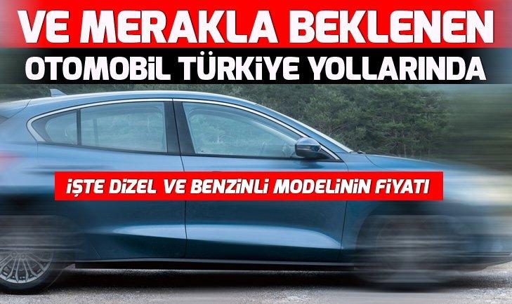 Yeni Ford Focus artık Türkiye yollarında!