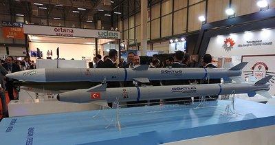 Türkiye'nin ilk hava-hava füzesi Göktuğ TEKNOFEST'te