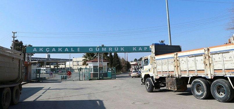 Tel Abyad ve Akçakale Gümrük kapılarında HGYS aktif hale getirildi
