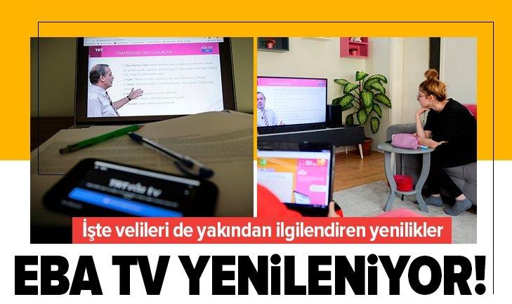 EBA TV YENİLENİYOR! TİYATRO DA EVE GİRİYOR