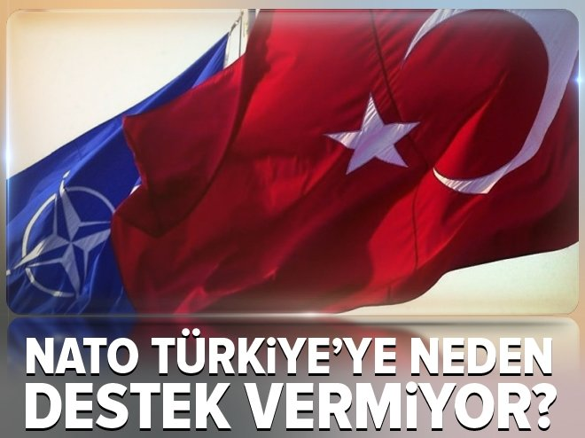 NATO Türkiye'ye neden destek vermiyor?