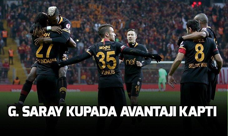 GALATASARAY HATAYSPOR'U 2-0 MAĞLUP ETTİ!