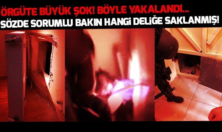 DHKP-C'NİN SÖZDE TÜRKİYE SORUMLUSU YAKALANDI