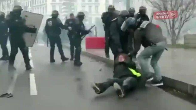 Kadına şiddetin başkenti Paris!