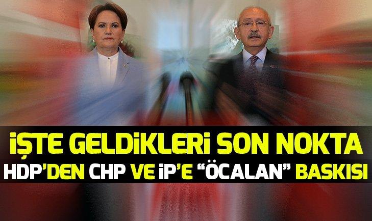 HDP'den CHP ve İyi Parti'ye ''Abdullah Öcalan'' baskısı