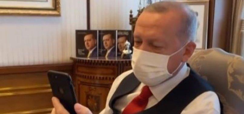 Başkan Erdoğan Viyana'daki terör saldırısında yardıma koşan kahraman Türklerle konuştu