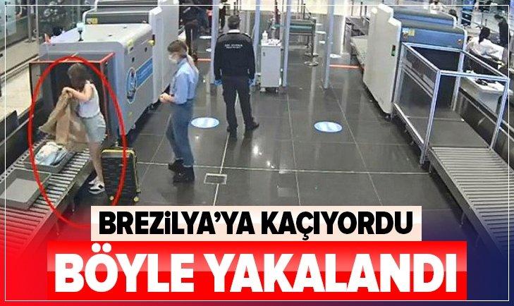 PKK üyesi Brezilya'ya kaçmaya çalışırken yakalandı!