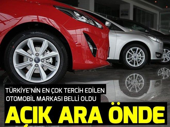 OTOMOBİLDE 10 YILIN LİDERLERİ BELLİ OLDU