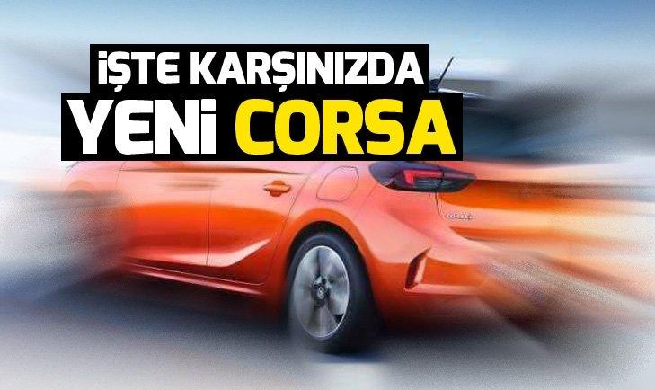 İŞTE KARŞINIZDA YENİ OPEL CORSA!