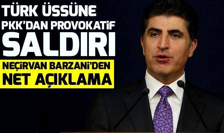 IKBY Başbakanı Neçirvan Barzani: Türkiye köyleri değil PKK hedeflerini vuruyor!