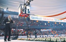 Cumhurbaşkanı Erdoğan: Bize husumet besleyeni ezer geçeriz