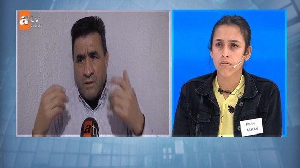 Fadime Arslan'ın oğlu Müge Anlı'ya konuştu