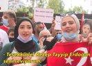 Patlamanın yaşandığı Beyrutta Başkan Erdoğan sevgisi