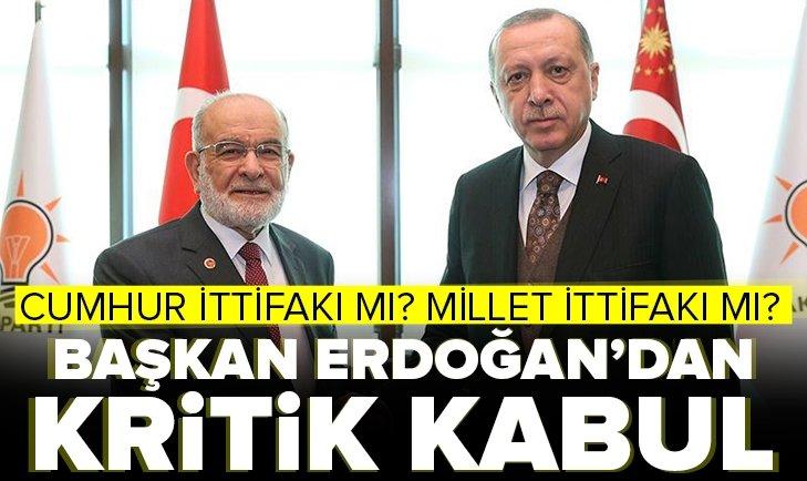 Erdoğan, Karamollaoğlunu kabul edecek