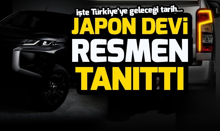 2019 MİTSUBİSHİ L200 TANITILDI!