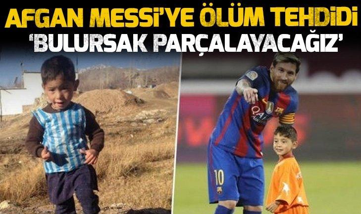 KÜÇÜK MESSİ'YE ÖLÜM TEHDİDİ!