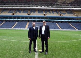 Ersun Yanal Ülker Stadı'na geldi! İşte ilk görüntüler...