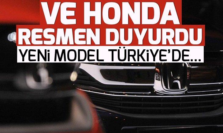 YENİ HONDA CR-V, TÜRKİYE'DE SATIŞA SUNULDU