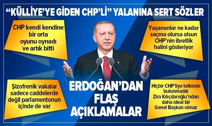 Erdoğan'dan AK Parti Grup Toplantısı'nda flaş mesajlar