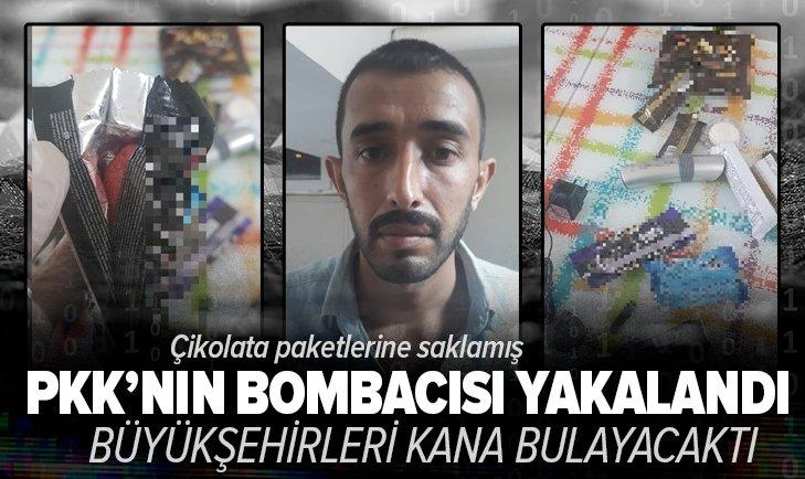 Son dakika: PKK'lı terörist çikolata ve kek ambalajlarına gizlediği patlayıcıyla yakalandı! Metropollerde eylem yapacaktı