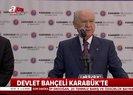 Son dakika: MHP Lideri Bahçeli'den AB'nin yaptırım kararına tepki |Video