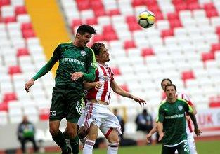 Sivas'ta Süper Lig'te bir ilk yaşandı!