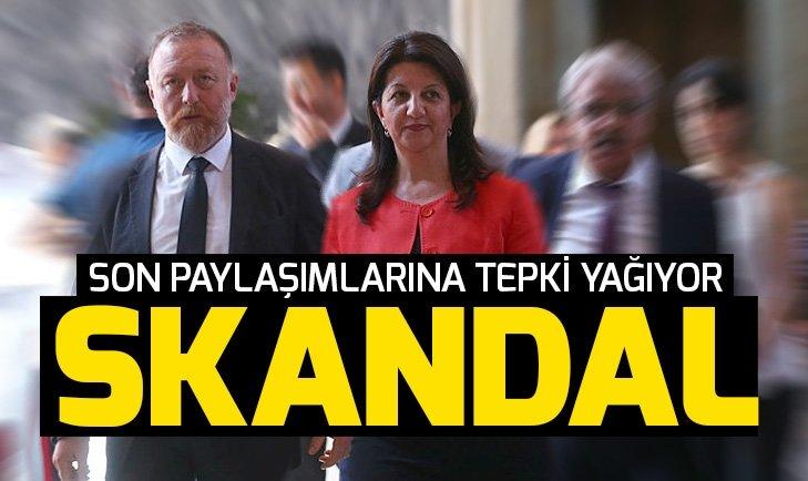 HDP'den skandal paylaşım