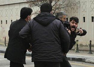 Ümitcan Uygun'un yakınlarından gazetecilere saldırı!