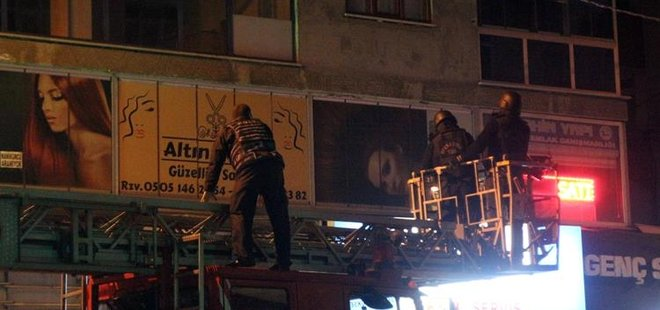 YÜRÜYÜŞ DERGİSİ'NE HELİKOPTER DESTEKLİ OPERASYON