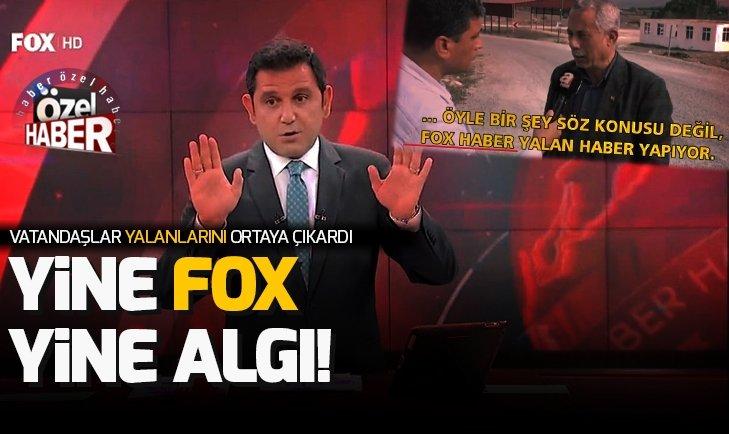 Yine FOX yine algı operasyonu! Yalanlarını vatandaşlar ortaya çıkardı