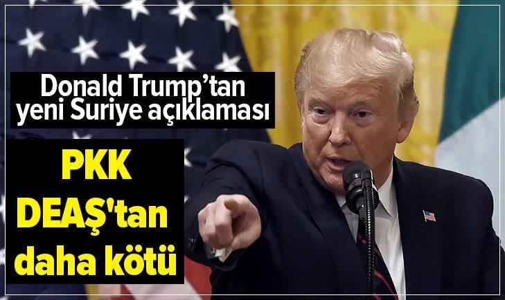 DONALD TRUMP'TAN FLAŞ AÇIKLAMALAR